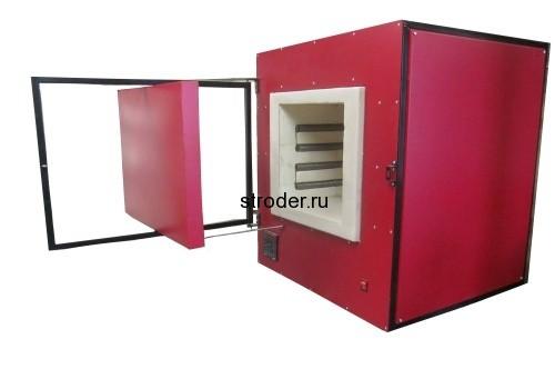 стродер муфельная печь 75 литров